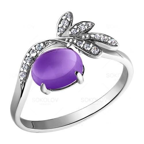 92010699 Серебряное кольцо