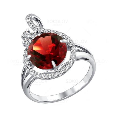 92010704 Серебряное кольцо