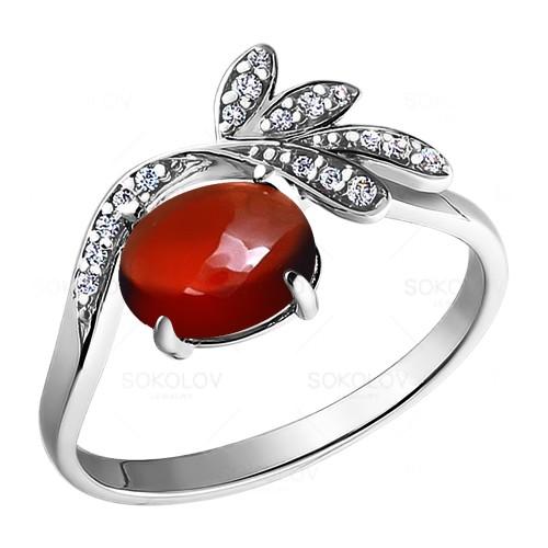 92010697 Серебряное кольцо