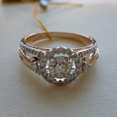 rr03859d Золотое кольцо