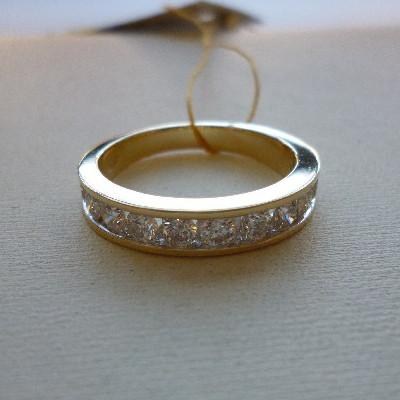 ry03336d Кольцо из лимонного золота