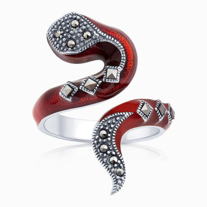 Серебряное кольцо Прочие и Эмаль арт. 06556 06556