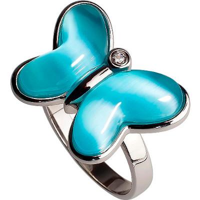 RIC255-15 Серебряное кольцо