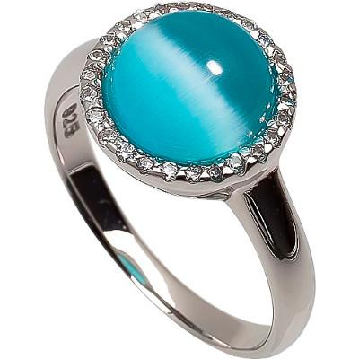 RIC261-15 Серебряное кольцо