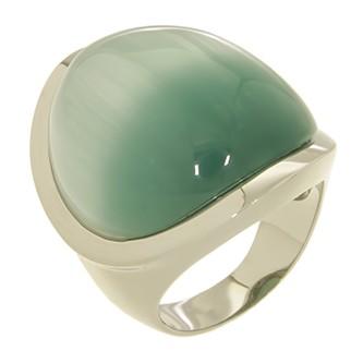 RIC130-20RH Кольцо серебряное с позолотой