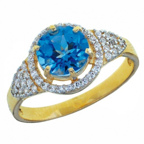 82357SV Золотое кольцо