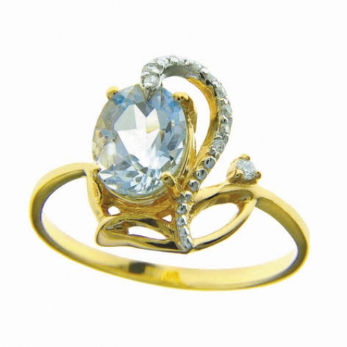 82287SV Золотое кольцо