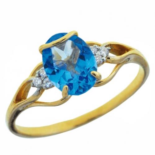 82370SV Золотое кольцо
