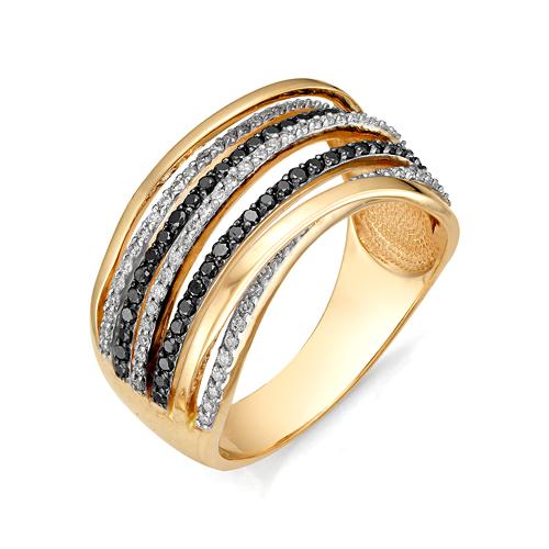 1-105-612 Кольцо из белого золота