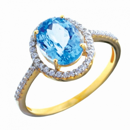 82330SV Золотое кольцо