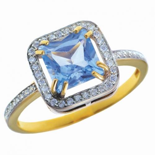 82327SV Золотое кольцо