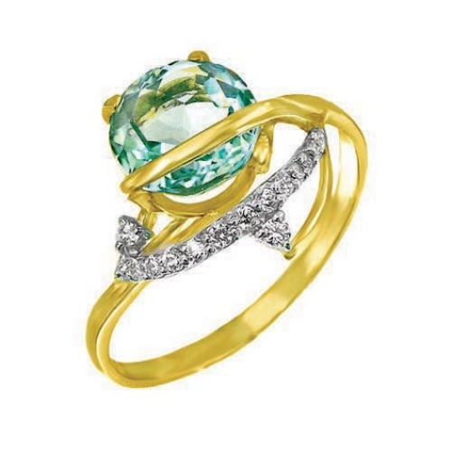 82205SV Золотое кольцо