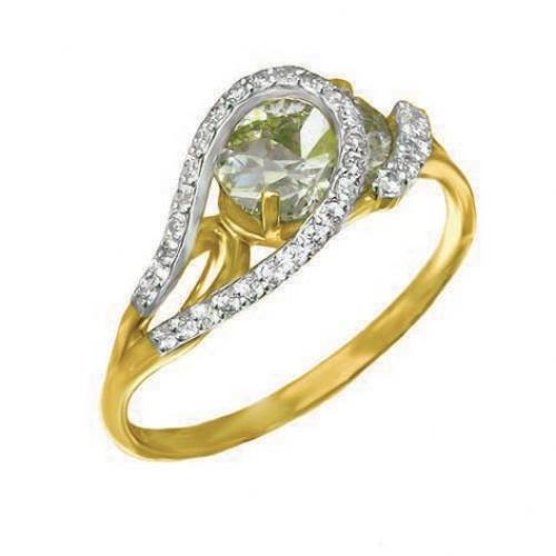 82202SV Золотое кольцо