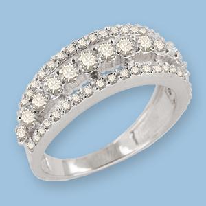 05010302-6 Серебряное кольцо
