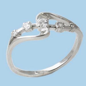 05010995-6 Серебряное кольцо