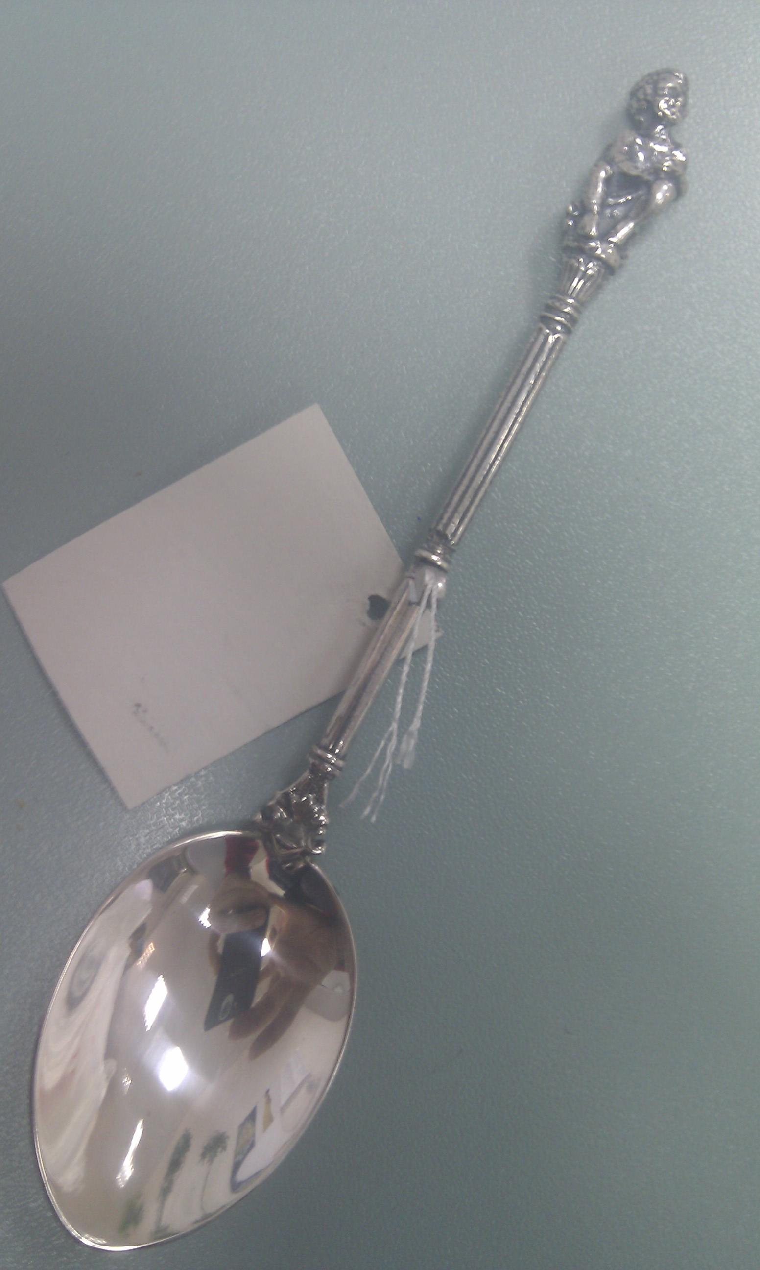 Чайная ложка из серебра арт. 6700 ангел 6700 ангел