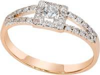1018811-11140 Золотое кольцо
