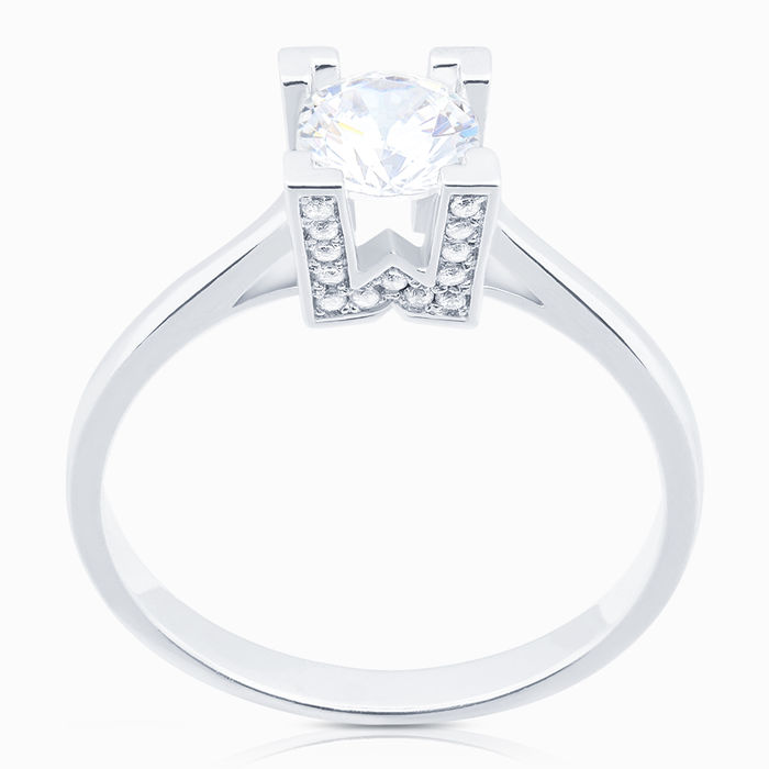 Серебряное кольцо Фианит арт. 08213 08213