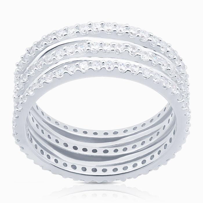 Серебряное кольцо Фианит арт. 08171 08171