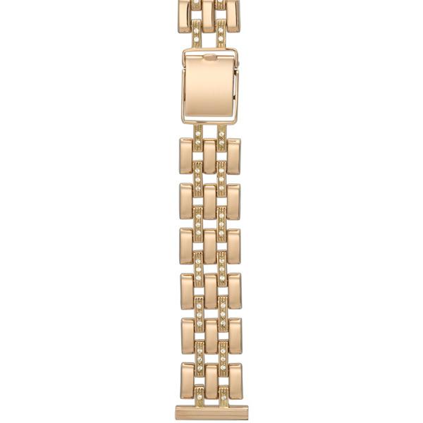 Женский браслет для часов из золота с фианитом размер присоединительного ушка 18 арт. 58786 58786