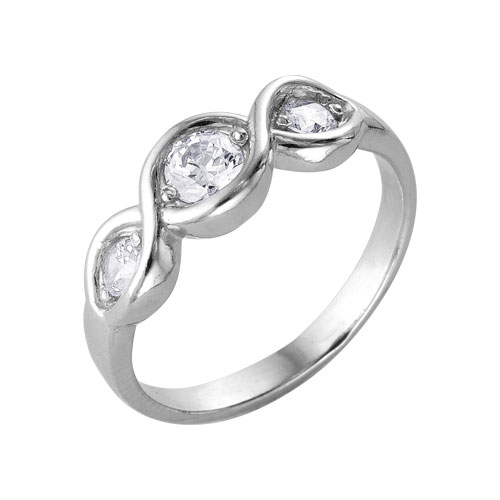 2386032 Серебряное кольцо