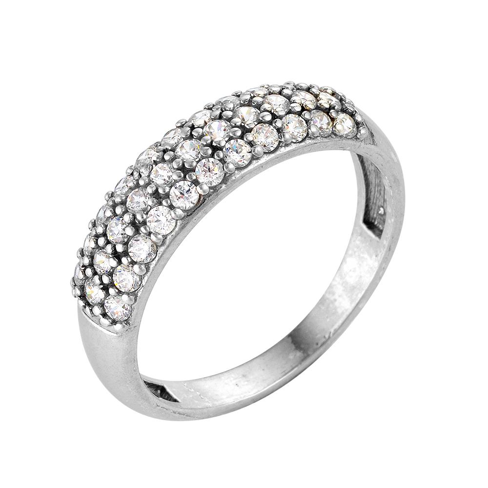 2386104д Серебряное кольцо