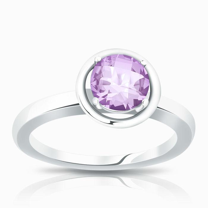 Серебряное кольцо Аметист арт. 02084 02084