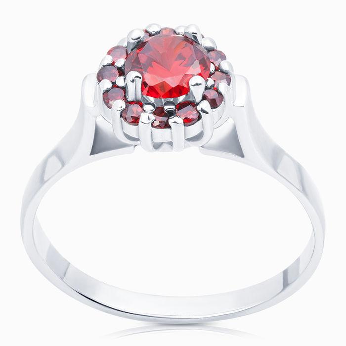 Серебряное кольцо Фианит арт. 04354 04354