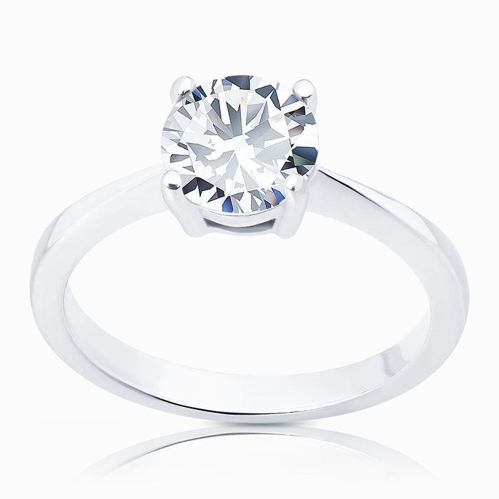 Серебряное кольцо Фианит арт. 00722 00722