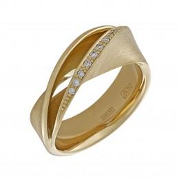 010557-ж Кольцо из лимонного золота
