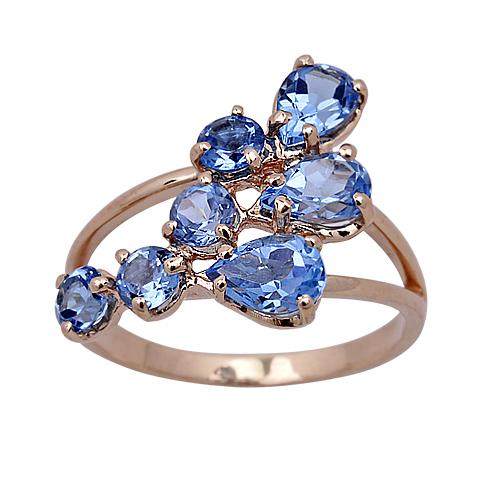 1-00697 Кольцо из белого золота