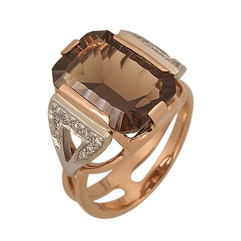 1-00648 Кольцо из белого золота