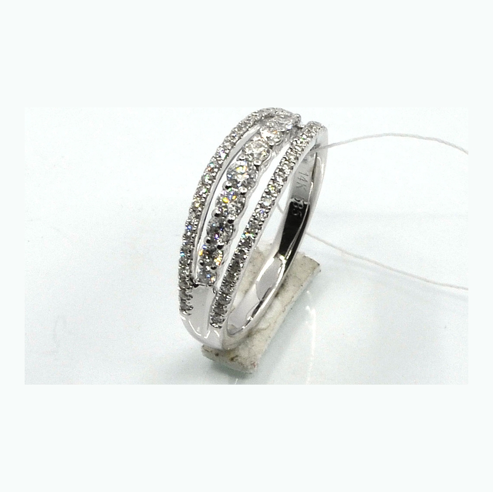 mr12666 Кольцо из белого золота