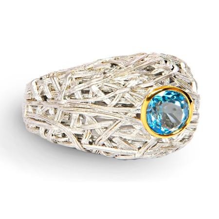 100067 Серебряное кольцо