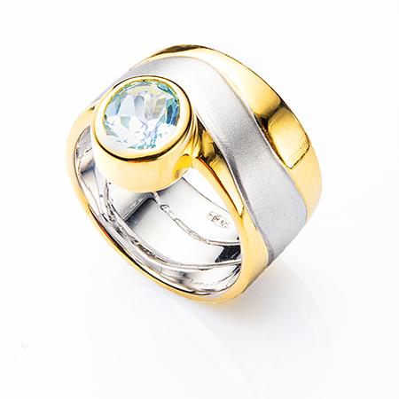 100352 Серебряное кольцо