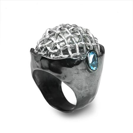 100970 Серебряное кольцо