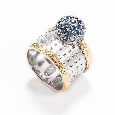 101022 Серебряное кольцо