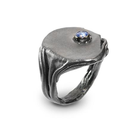 101066 Серебряное кольцо