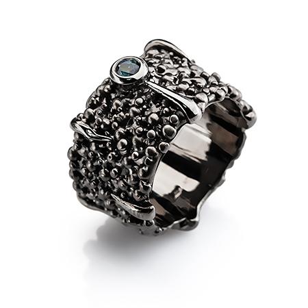 101079 Серебряное кольцо