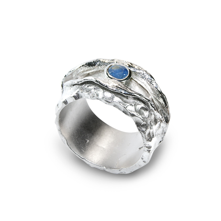 101087 Серебряное кольцо
