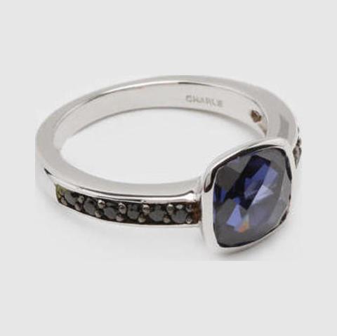 др351т Серебряное кольцо