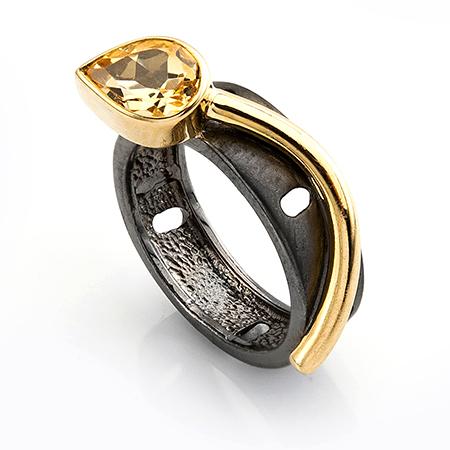 100543 Серебряное кольцо