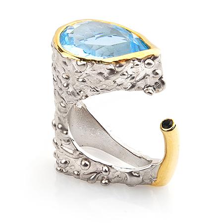 100105 Серебряное кольцо