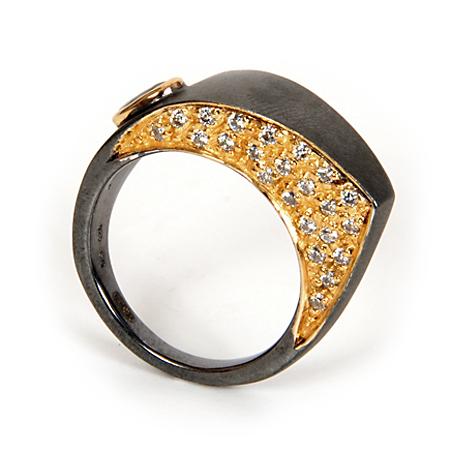 100062 Серебряное кольцо