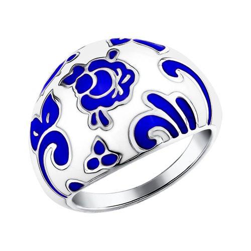 Серебряное кольцо Эмаль арт. 94011115 94011115