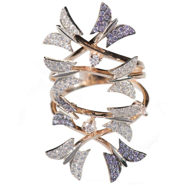 Золотое кольцо Фианит арт. к512 к512