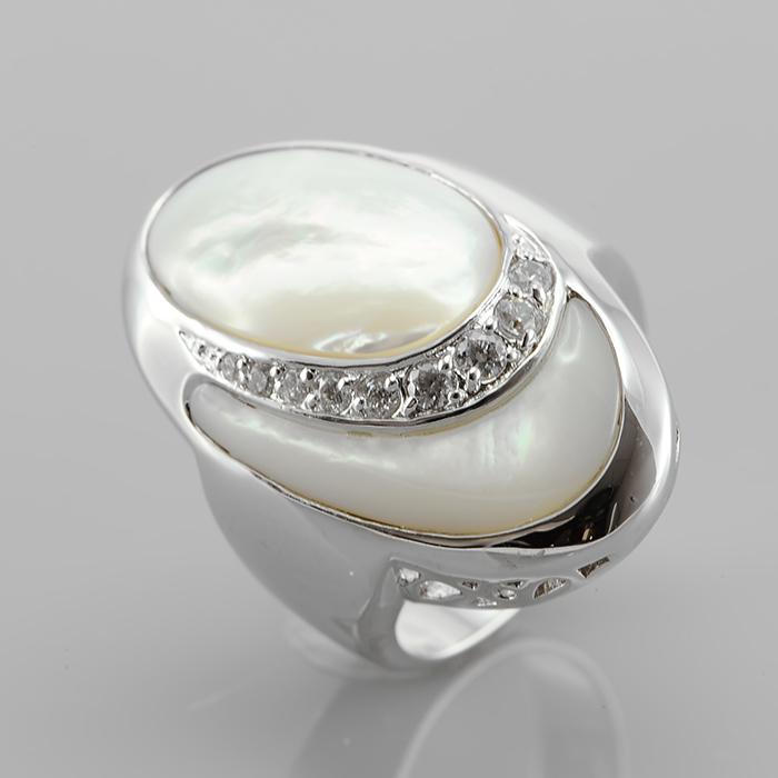 Серебряное кольцо Прочие и Фианит арт. r904478-b r904478-b