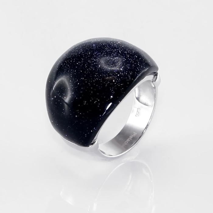 Серебряное кольцо Аквамарин арт. r904612-a r904612-a