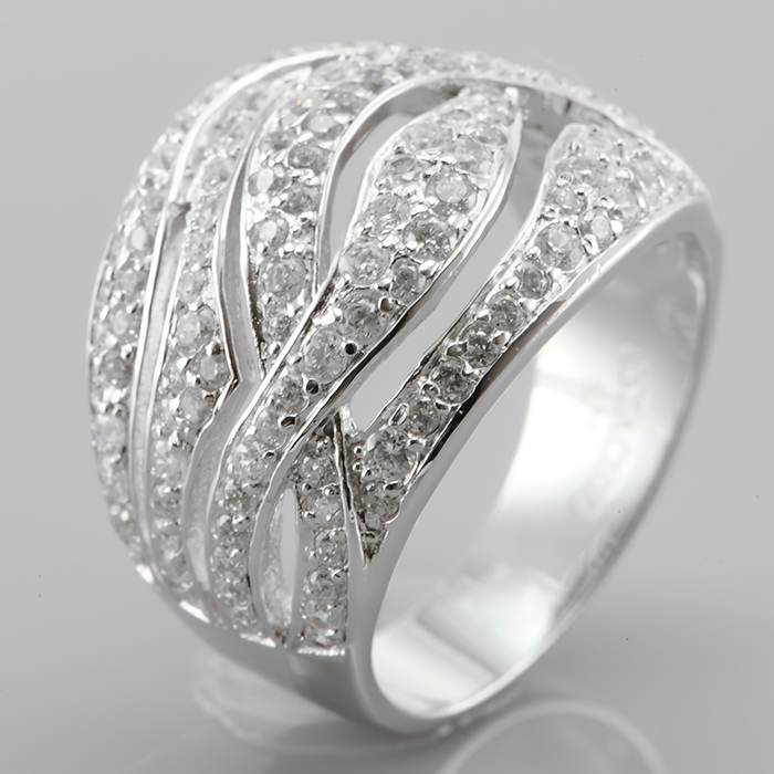 Серебряное кольцо Фианит арт. r906053 r906053