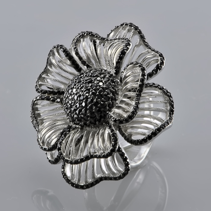 Серебряное кольцо Фианит арт. r907277 r907277